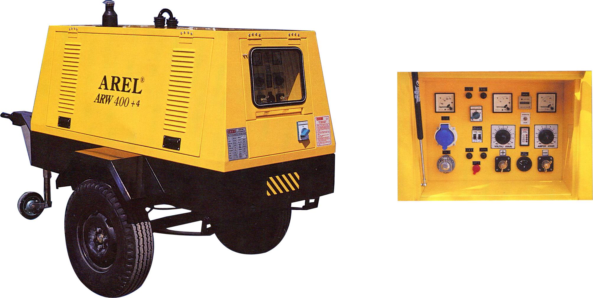 ARW.400 + 4 400 AMP Kaynak Makinası