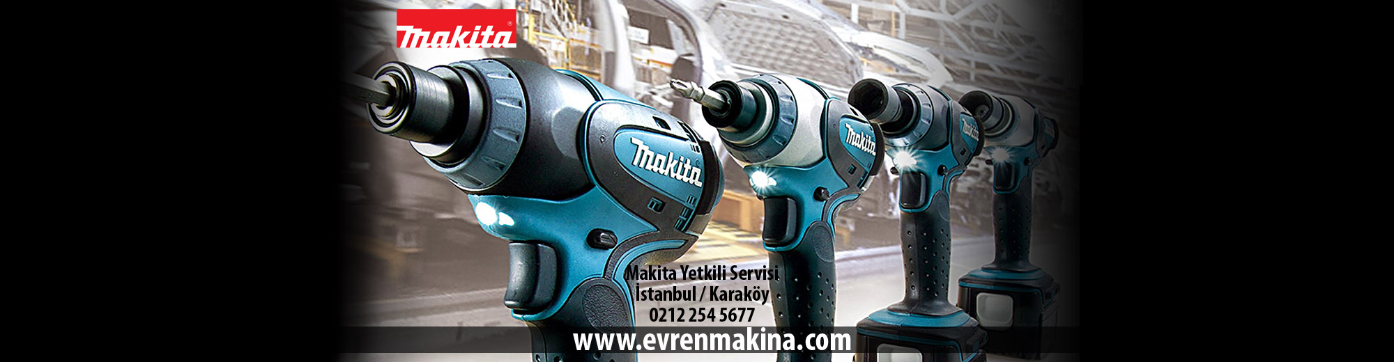 Makita Yetkili Servisi İstanbul